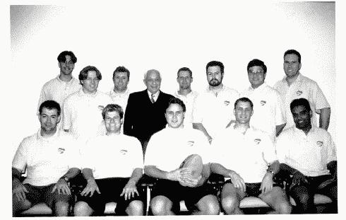 Company Football team photo